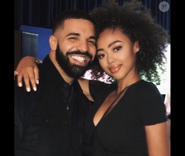 Drake et Bella Harris. Août 2018.