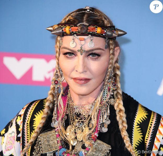 Madonna - MTV Video Music Awards à New York, le 20 aout 2018.