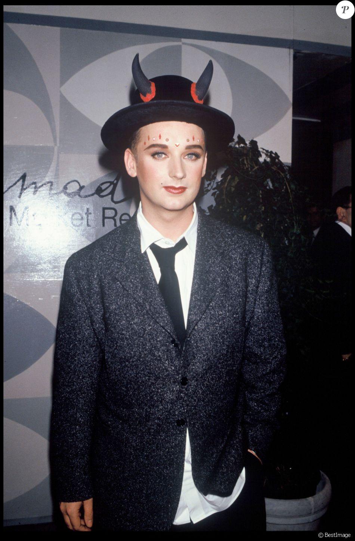 boy george en novembre 1993. - purepeople