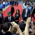 David et Victoria Beckham arrivent au tirage au sort de la Ligue des Champions 2018-2019 au Grimaldi Forum de Monaco le 30 août 2018. © Jean-François Ottonello / Nice Matin via Bestimage