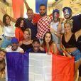 Benjamin Samat candidat de l'émission Les Marseillais vs Le Reste du monde en diffusion sur W9 sur le tournage à Marbella - Instagram, juillet 2018