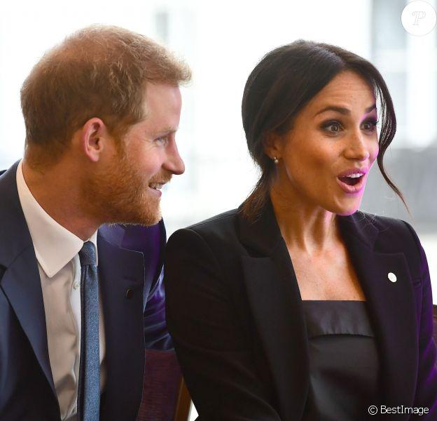 Le prince Harry, duc de Sussex, et Meghan Markle, duchesse de Sussex, ont rencontré avec plaisir les lauréats des WellChild Awards lors d'une réception avant le gala annuel de l'association WellChild à l'hôtel Royal Dorchester à Londres le 4 septembre 2018.