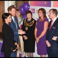 Le prince Harry et la duchesse Meghan de Sussex (Meghan Markle) lors de la soirée des WellChild Awards à l'hôtel Royal Dorchester à Londres le 4 septembre 2018.