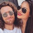 """Maxime et Alizée (""""Pékin Express"""") amoureux sur Instagram. Août 2018."""