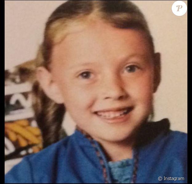 Mais qui est cette petite fille ? Instagram, septembre 2018