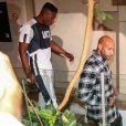 Booba, de son vrai nom Élie Yaffa - Les rappeurs Kaaris et Booba, ainsi que neuf autres prévenus, ont été jugés ce jeudi devant le tribunal correctionnel de Créteil pour violences aggravées et vols en réunion après leur bagarre à Orly le 1er août dernier le 6 septembre 2018. Après plus de dix heures d'audience, jeudi le procureur a requis une peine de douze mois de prison avec sursis contre les deux rappeurs, se refusant de faire une différence entre les deux camps.