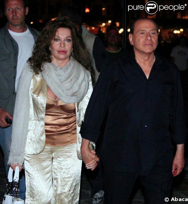 Silvio Berlusconi et sa femme Veronica Lario... clap de fin après 30 ans de mariage !