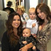Eva Longoria : Inséparable de son bébé, elle l'emmène en tournage