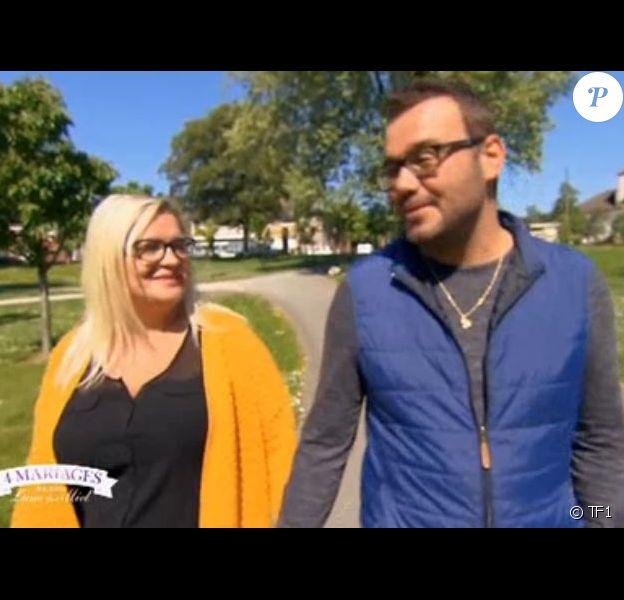 """Mariage d'Elodie et Benjamin dans """"4 Mariages pour 1 lune de miel"""" - 6 septembre 2018"""