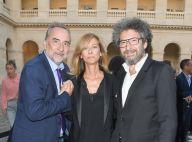 Anne Gravoin : Look sexy en cuir et discret sourire pour l'ex-madame Valls