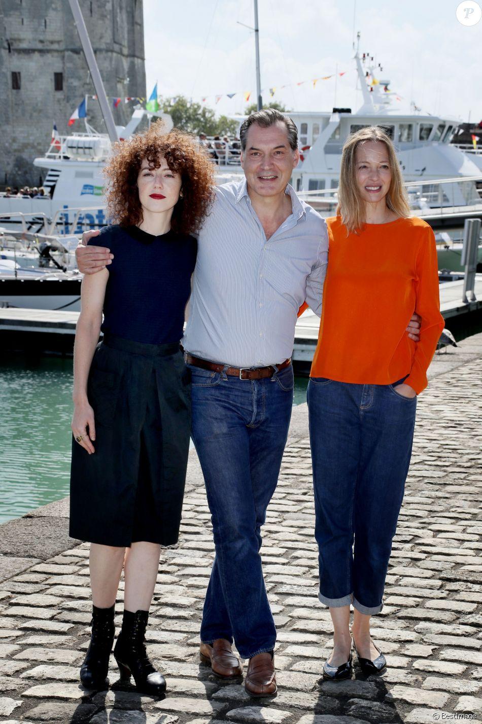 Samuel Labarthe, Blandine Bellavoir et Elodie Frenck au ...