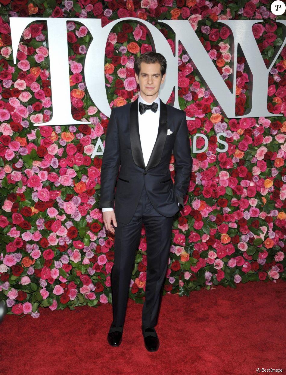 Andrew Garfield - 72ème cérémonie annuelle des Tony Awards au Radio City Music Hall à New York, le 10 juin 2018.