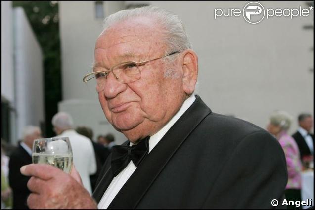 Le comédien autrichien Fritz Muliar en 2005