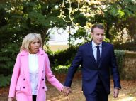 Brigitte Macron : Look automnal en promenade amoureuse avec Emmanuel