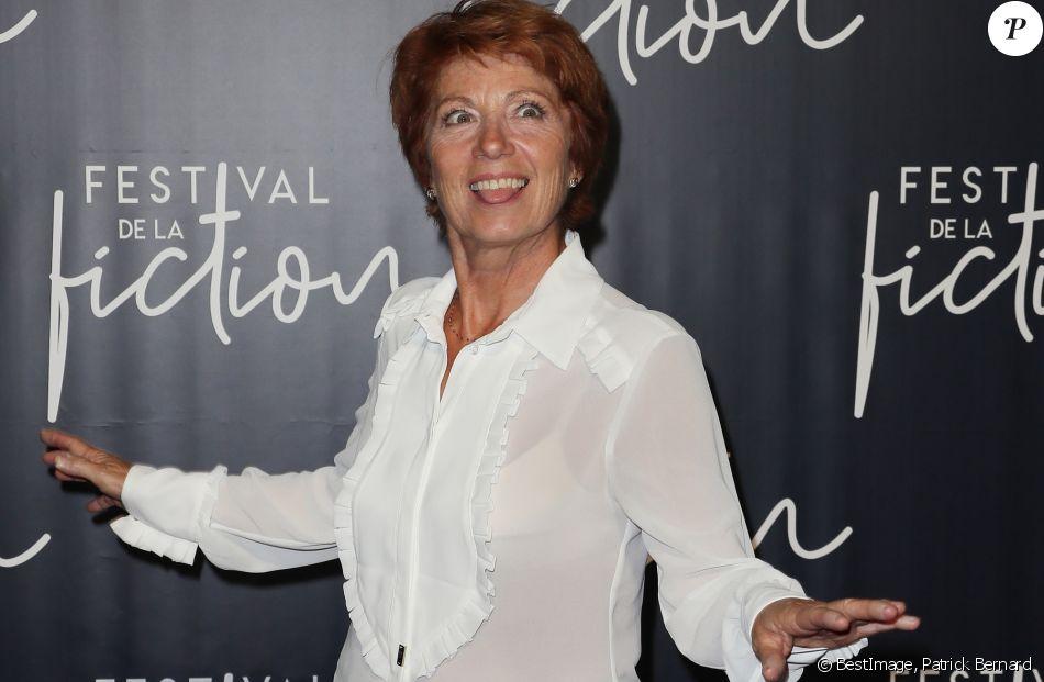 Véronique Genest lors de la cérémonie de clôture du festival international du film de La Rochelle, France, le 15 septembre 2018. © Patrick Bernard/Bestimage