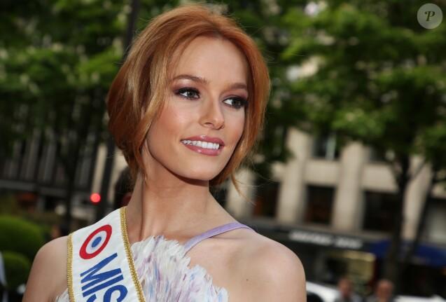 Maëva Coucke (Miss France 2018) arrive à la 9ème édition du