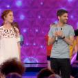 """Kevin éliminé de """"N'oubliez pas les paroles"""" le 22 juillet 2018 sur France 2. Ii face à Nastassja."""