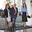 """La princesse Mary de Danemark assiste à la conférence """"CBS Responsibility"""" à l'Ecole de commerce de Copenhague le 3 septembre 2018."""
