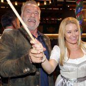 Arnold Schwarzenegger déchaîné à l'Oktoberfest avec sa compagne Heather Milligan
