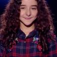 """Inès dans """"The Voice Kids 5"""" le 12 octobre 2018."""