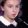 """Zoé dans """"The Voice Kids 5"""" sur TF1, le 12 octobre 2018."""