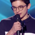 """Morgan dans """"The Voice Kids 5"""" sur TF1 le 12 octobre 2018."""