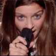 """Irma dans """"The Voice Kids 5"""" sur TF1 le 12 octobre 2018."""