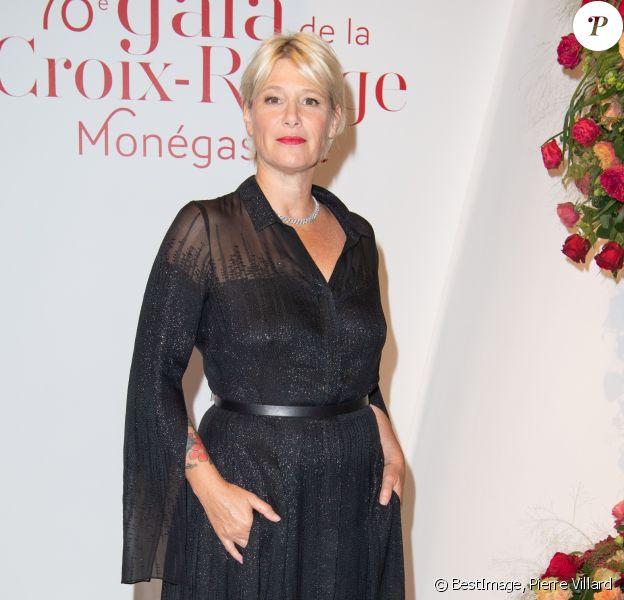 Maïtena Biraben - No Tabloids - 70ème édition du gala de la Croix Rouge monegasque à Monaco le 27 juillet 2018. © Pierre Villard/Le Palais Princier/Monte-Carlo-SBM via Bestimage