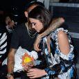 Neymar Jr. et Bruna Marquezine Défilé Off -White™, collection prêt-à-porter printemps-été 2019 lors de la Fashion Week de Paris, le 27 septembre 2018.