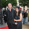 Anggun et son agent au 15e festival Amnesty International