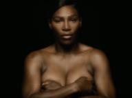 Serena Williams : Topless et engagée contre le cancer du sein