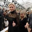 La princesse Charlene de Monaco assiste au défilé Akris collection PAP Printemps/été 2019 lors de la fashion week à Paris le 30 septembre 2018. © Veeren-CVS/Bestimage