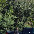 Illustration préparations mariage - Préparations et arrivée des invités au mariage de Gwyneth Paltrow et Brad Falchuk dans Les Hamptons au nord-est de l'île de Long Island dans l'État de New York, le 29 septembre 2018