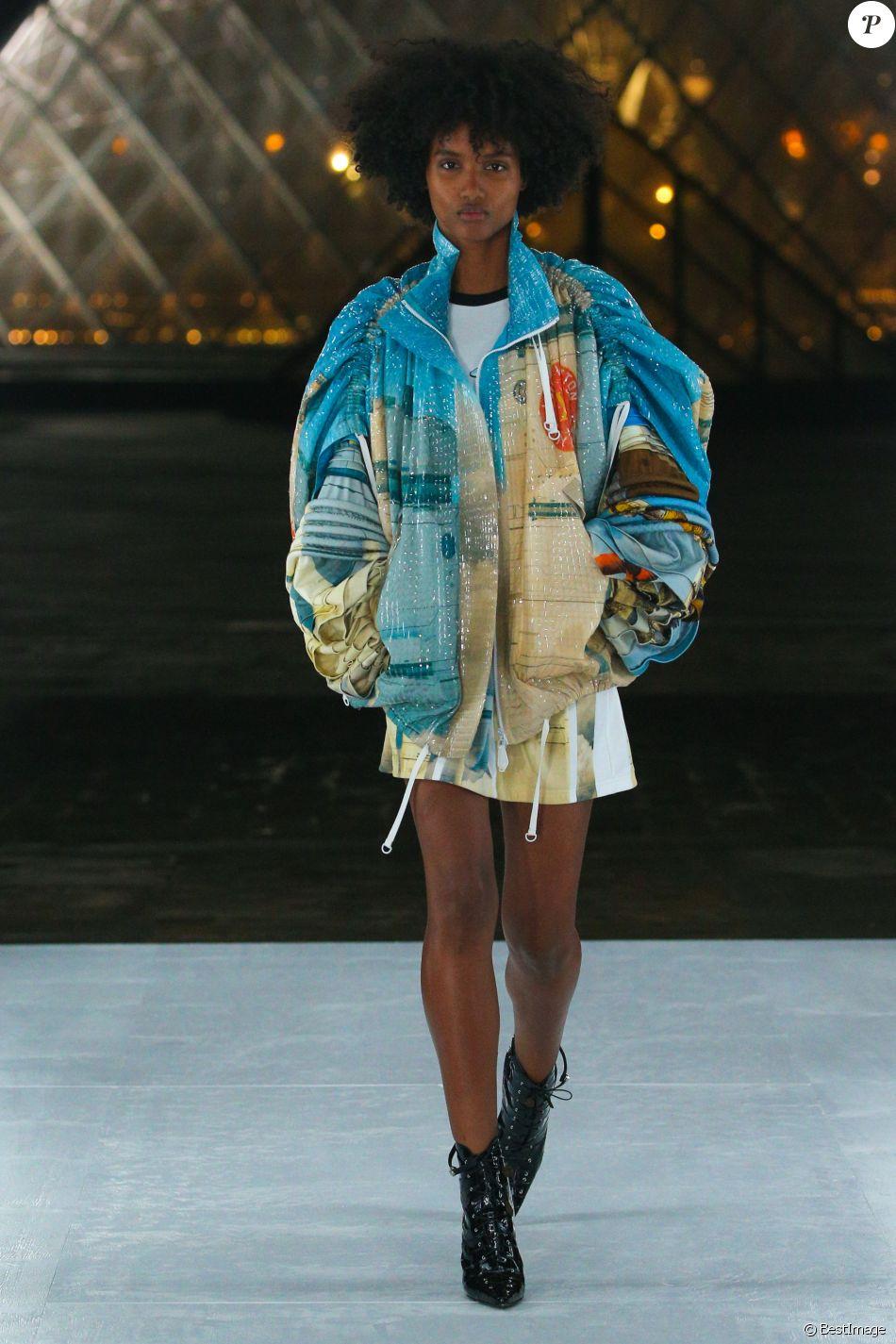 Défilé de mode printemps,été 2019 \u0026quot;Louis Vuitton\u0026quot; à Paris.