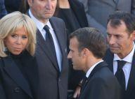 Hommage national à Charles Aznavour : Le couple Macron digne auprès des proches