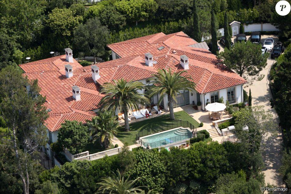 La villa des Beckham à Beverly Hills