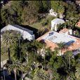 Image de la villa du couple Beckham à Los Angeles