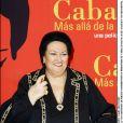 Montserrat Caballé à Madrid en 2003.