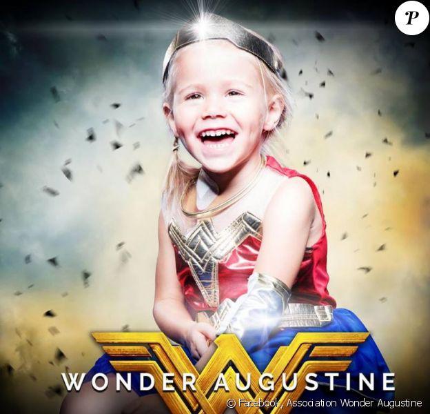 Wonder Augustine, surnom donné à Augustine, fillette de 4 ans décédée le 8 octobre 2018 d'un cancer du cerveau.