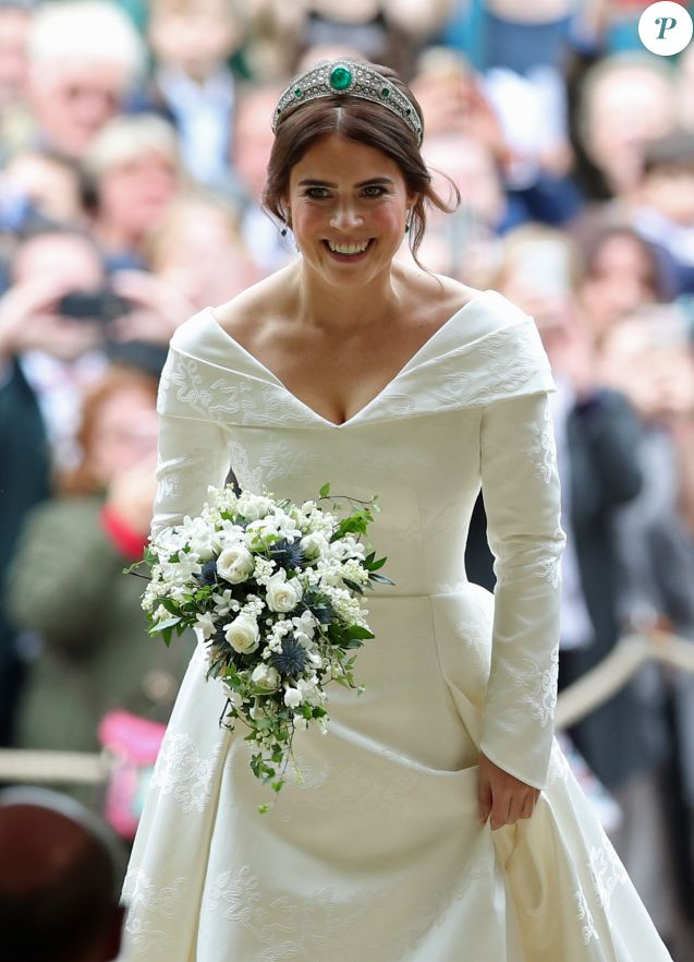 b254884d04984 La princesse Eugenie d York - Cérémonie de mariage de la princesse Eugenie  d