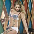 Peaches Geldof pose pour la marque de lingerie Ultimo