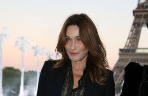 Carla Bruni malade : Clouée au lit et couverte de compliments malgré tout...