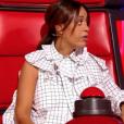 """Amel Bent dans """"The Voice Kids 5"""" sur TF1, octobre 2018."""