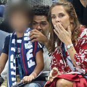 Jamel Debbouze et Mélissa, Guillaume Canet et Franck Dubosc en famille au Stade