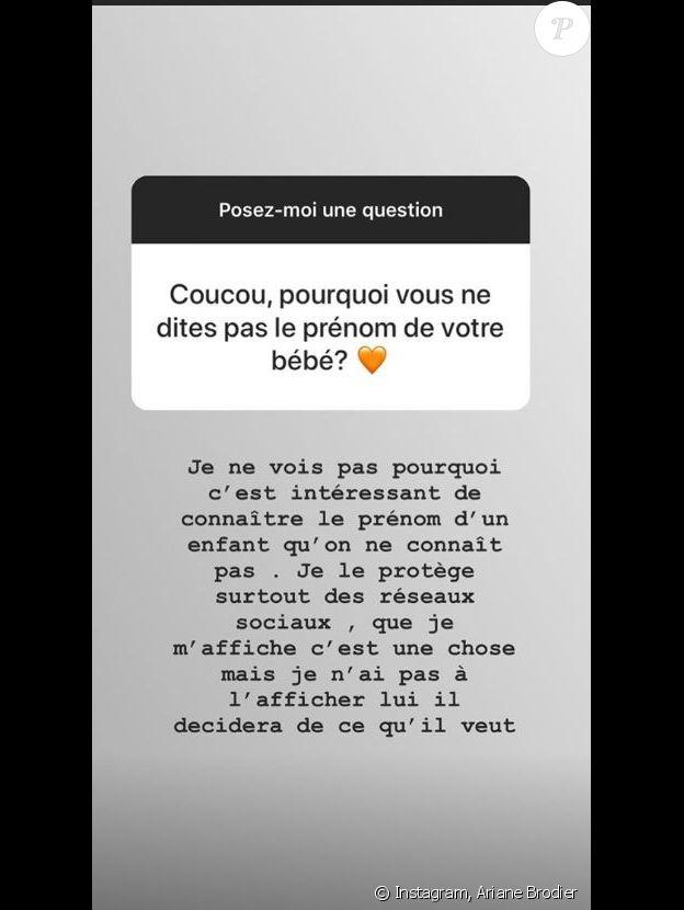 Ariane Brodier, Instagram, 18 octobre 2018