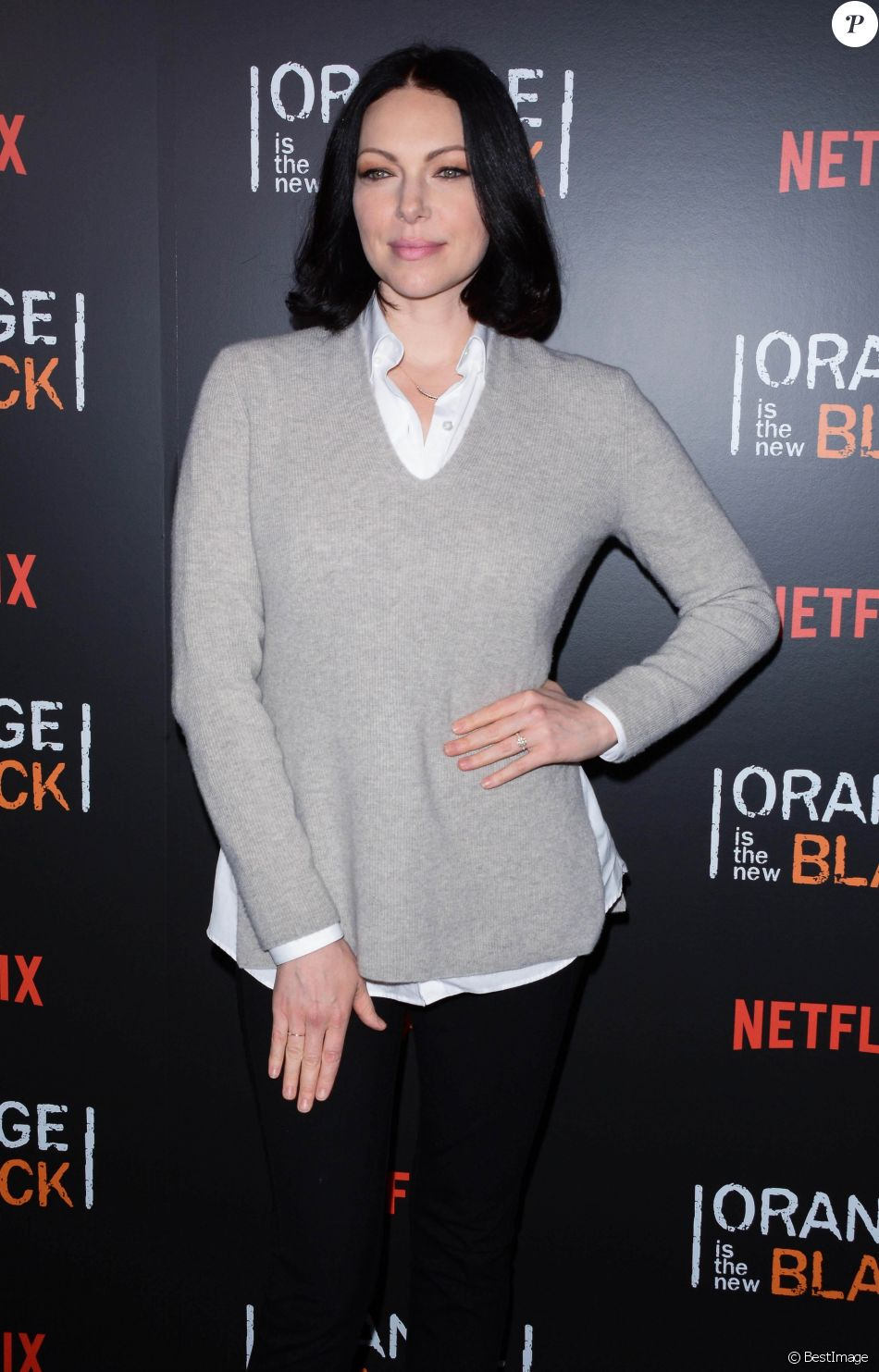 Laura Prepon - People a la soirée Orange Is The New Black a New York, le 18 mai 2018.