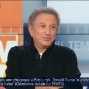 Mort de Philippe Gildas : Michel Drucker raconte leur entrevue à l'hôpital