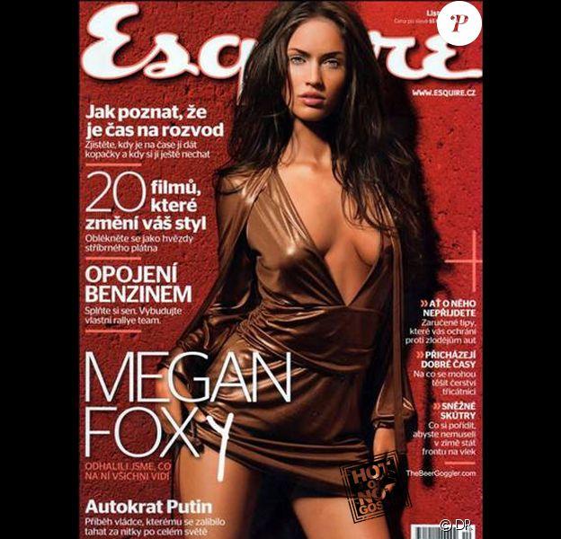 Megan Fox en couverture du magazine Esquire tchèque