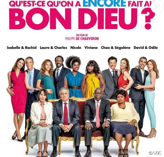 """Affiche officielle de '""""Qu'est-ce qu'on a encore fait au Bon Dieu ?"""". En salles le 30 janvier 2019."""