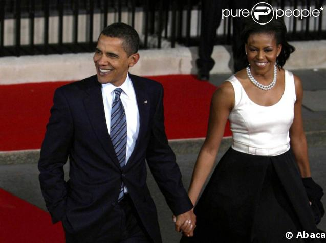 Barack Obama et son épouse Michelle